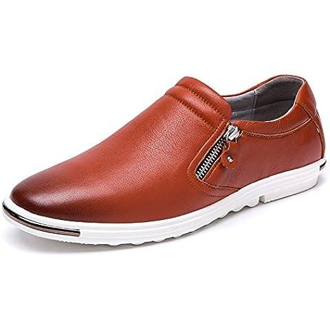 2016Bajo para ayudar a los zapatos casuales conjunto de los hombres de los pies/zapatos de cuero cómodos/Use zapatos