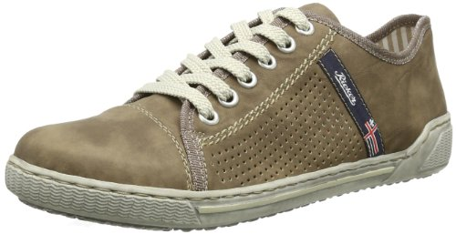 Rieker Damen 42417 Low-top, Braun (loam/25), 39 EU