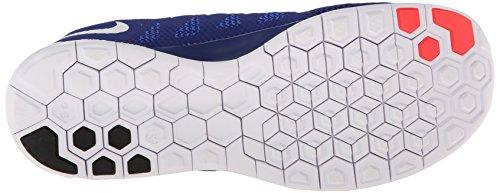 Nike Nike Free 5.0 Flash, Chaussures de running femme blau/neonrot