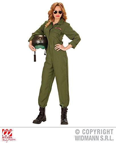 KOSTÜM - KAMPFJET PILOTIN - Größe 46/48 (XL), Tarnanzug Armee Kampfflieger Air Force Piloten (Air-force-overalls)
