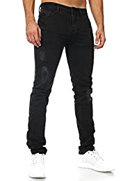 Mens Herren Jeans Davin Slim Sky Rebel