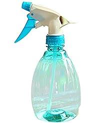 Bonjouree Vaporisateur en plastique transparent Pour Coiffure Pour Arrosage de Plantes (Bleu)