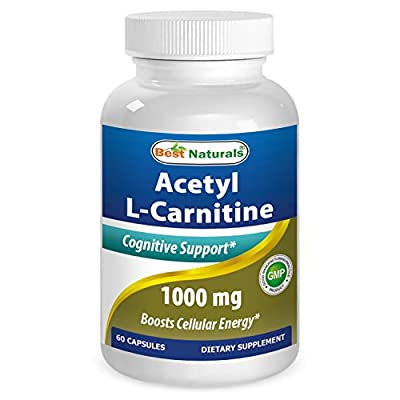 Best Naturals Acetyl L-Carnitine 1000 mg 60 Capsules