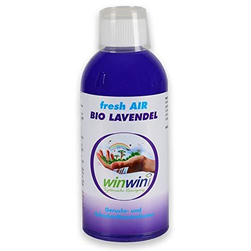 winwin clean Systemische Reinigung - Fresh AIR LUFTREINIGUNGS-Konzentrat Lavendel 500ML I AUCH BESTENS GEEIGNET FÜR DEN Einsatz IM proWIN AIR Bowl