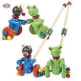 Tirer des jouets en bois push Do...