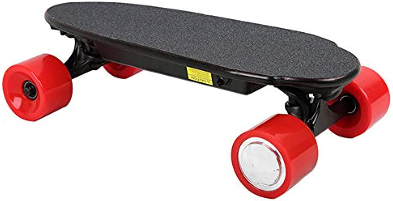 WANG Scooter Elettrico Mini in in in Legno PU a 4 Ruote a Singola unità a Distanza Lungo Brush Street Board (Coloreee...   On-line    Uomo/Donna Scarpa  48df13