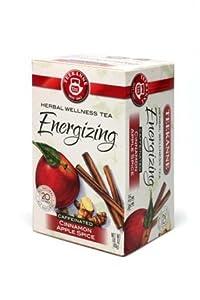 Teekanne Energizing Cinnamon Apple Spice 20 ct (Case of 6 boxes)