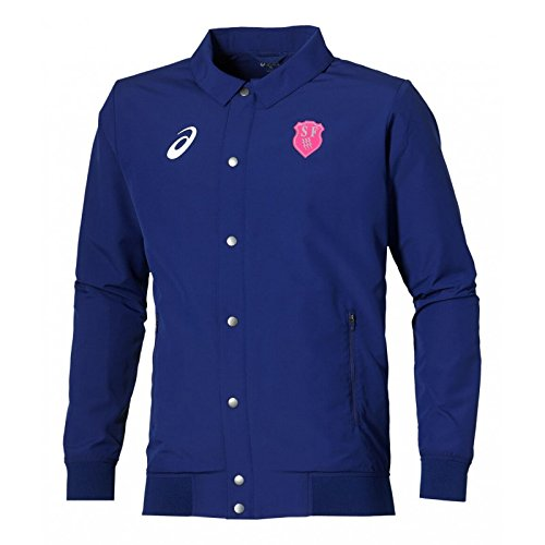 Asics Damen Trainingsjacke Gr. XL, Mehrfarbig
