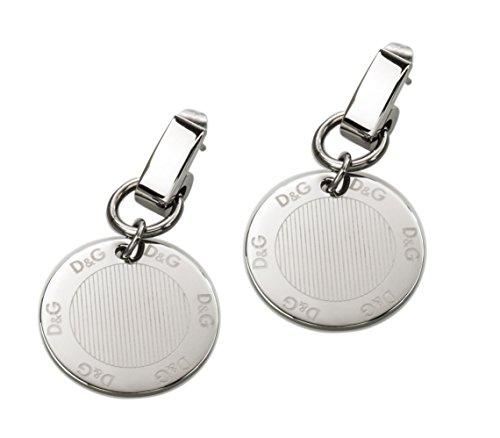 Dolce Gabbana &-Orecchini pendenti, in acciaio inossidabile, DJ0684