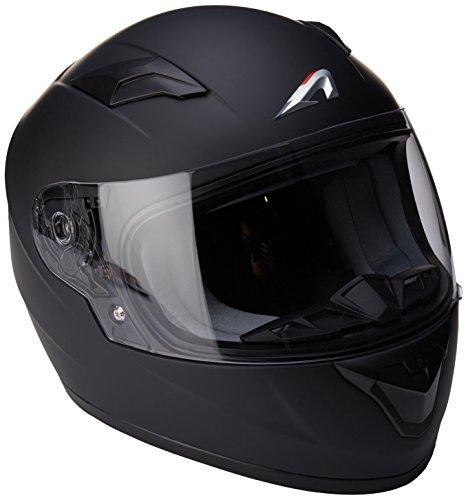 Astone Helmets gt2km-mbkm casco Moto Integral GT Kid Gloss, Color Negro Brillante, talla M