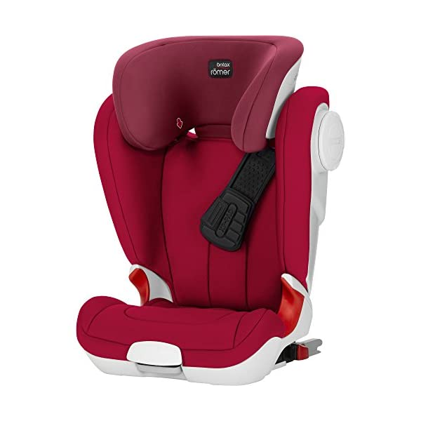 Britax Römer car seat Kidfix XP (SICT) Group 2/3. Britax Römer Front impact pad - XP, storm gray Shockproof side protection - MTS Codes High back for shock absorbing side protection and correct strap guide 31