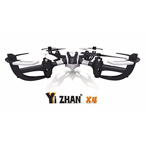 Bluelover Yi Zhan Yizhan X4 6 asse 2.4G RC Quacopter con il trasmettitore LCD RTF