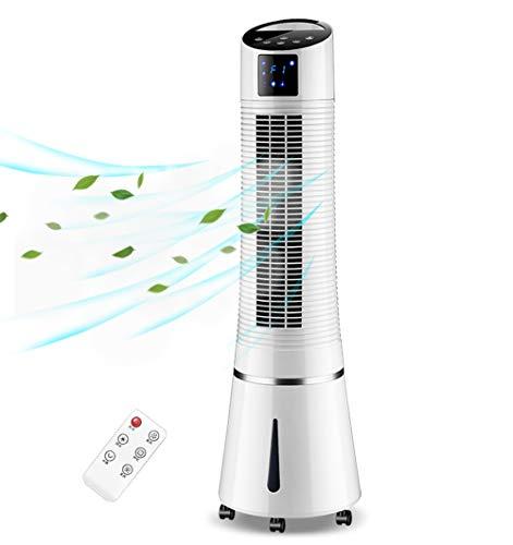 Ventilador De La Torre Tranquila,vertical Móvil Pequeño Aire Acondicionado 8.0h Temporizador De Baja...