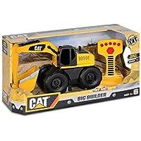 Toy State -  Cat Vehículo De Obras Públicas Y Construcción Big Builder Remoto (con Cable) Excavadora, Color  (36639)