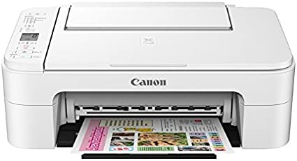 Canon TS 3177S Inkjet Printer (White/Black)