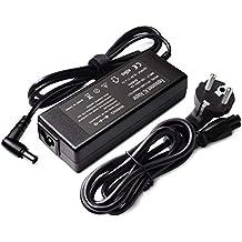 Laptop Cargador Cable de carga 19,5 V 4,7 A para Sony VAIO PCG de VGN Series Notebook VGP-AC19 V19 VGP-AC19 V29 VGP-AC19 V36 VGP-AC19 V37, VGP-AC19 V41 ...