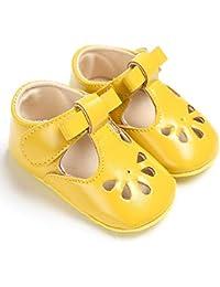7a17439c53950 Chennie 0-18M Nouveau-né bébé Fille Sandal évider Mary Jane Chaussures  Bambin Prewalkers