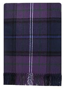 Scotland Forever Tartan Couverture en laine d'agneau