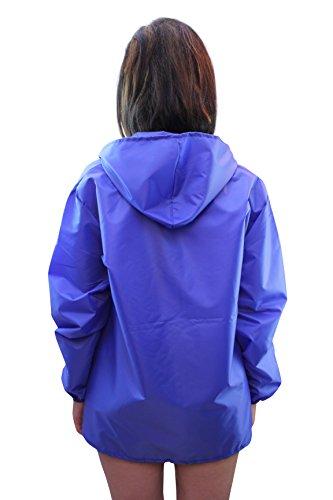 Girl Talk -  Giacca impermeabile  - Cappotto - Maniche lunghe  - 75 DEN - Donna Blue