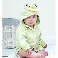 Bathing Bunnies Frog Baby Bath Robe Cotton