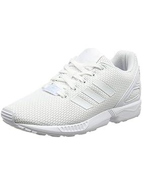 adidas ZX Flux C, Zapatillas de Deporte Unisex niños, Blanco Ftwbla, 30 EU