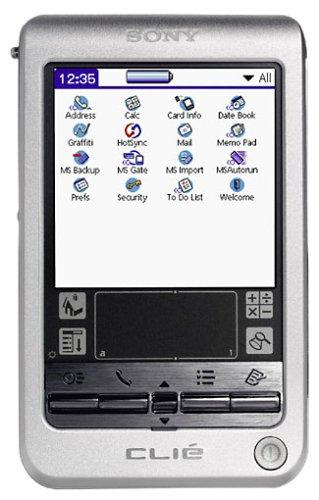 Sony Clié PEG-T675C Handheld -