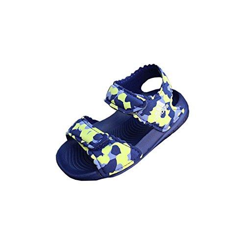 adidas Kleinkinder Badeschuhe AltaSwim g I blau gelb weiß, Größe:22