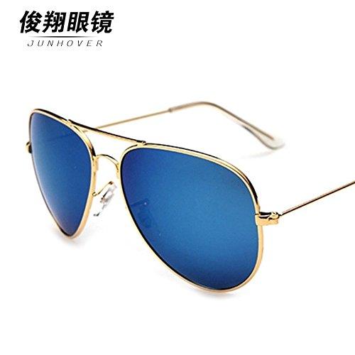 star der männlichen fahrer polarisierenden sonnenbrillen retro - sonnenbrille sonnenbrille trendsetter bunte sonnenbrillen,rot - goldenen rahmen (high - definition - polarisiertes licht)