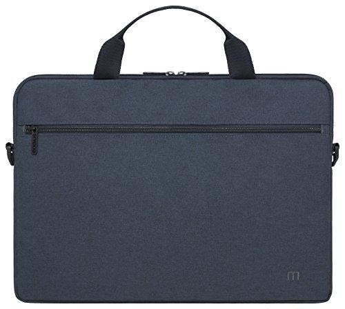 Mobilis 015012 Laptoptasche mit Schultergurt für 16- bis 18-Zoll-Laptops (ca. 40 bis 45cm) marineblau 16