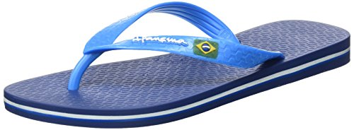 Ipanema Herren Classic Brasil II AD Zehentrenner, Blau (Blue/Blue_8078), 39/40 EU (Thong Farbe Classic)