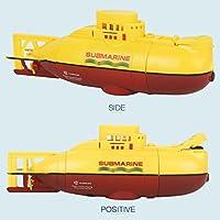 Juguetes Creativos, Zantec Mini RC Barco Submarino 6CH de Alta Velocidad de Radio Modelo de Barco de Control Remoto Eléctrico Juguete de Los Niños