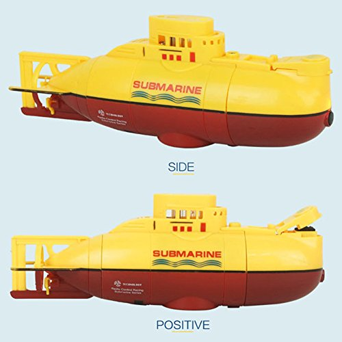 Creative Toys, Zantec Mini RC Submarine Boat 6CH High Speed Radio Remote Control Boat Model Electric Children Toy