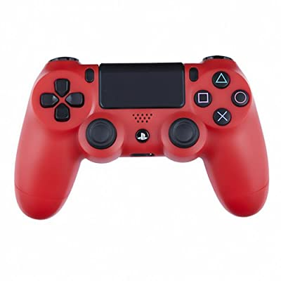 Playstation 4 Custom Controller -Matte Red Edition