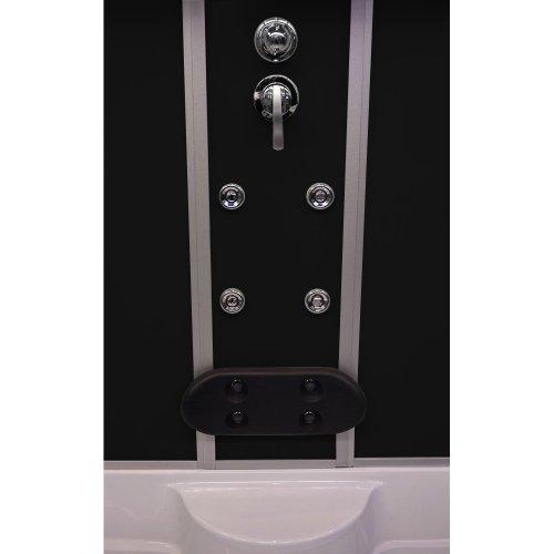 Home Deluxe Diamond schwarz Duschtempel inklusive Whirlpool und Dampfsauna - 4