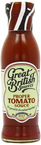Great British Sauce Proper Tomato Sauce 315 g (Pack of 6)