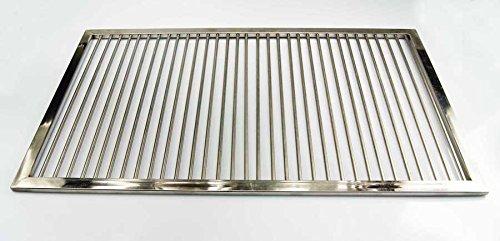 PREMIUM Grillrost Edelstahl 61 x 42 cm passend für diverse TAINO Grill Gasgrill BBQ