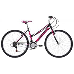 "Atala Mountain Bike 26"" Sunrise 18V Nero/Fuchsia"