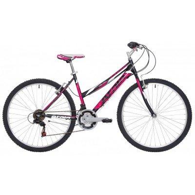 "Atala Mountain Bike 26"" Sunrise 18V Nero/Fuchsia"