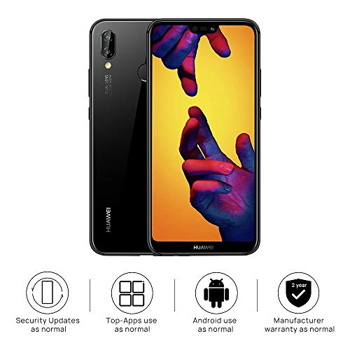 HUAWEI P20 Lite 64 GB 5 8-Inch FHD+ FullView Android SIM-Free Smartphone  with 16MP Dual Camera, Dual SIM, Midnight Black, UK Version, Amazon  Exclusive