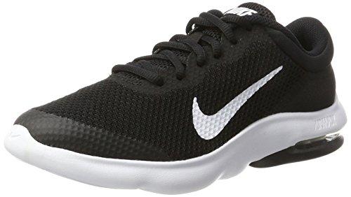 Nike Air Max Advantage Gs, Zapatillas de Gimnasia para Niñas, Negro (Black/White), 36.5 EU