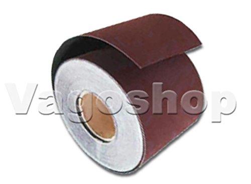 1 Rolle Schleifpapier ohne Klett 115 mm x 10 m Rollenschleifpapier Korn 320