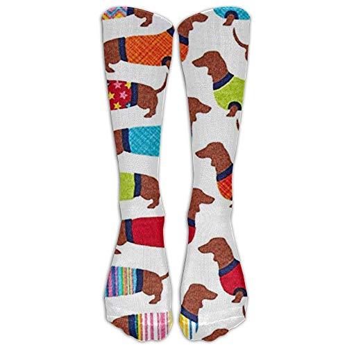 nee High Graduated Compression Socks For Women And Men - Best Medical, Nursing, Travel & Flight Socks - Running & Fitness ()