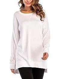Maglie 44 Donna T Amazon Manica A Lunga it Abbigliamento HCqwwAI