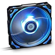 NOX - Ventilador  HFAN 12cm Led Azul