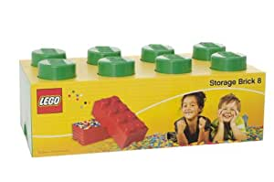 LEGO 8-Plug Storage Brick Toy (Green)