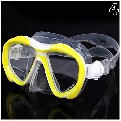 Syfinee Tauchmaske mit Schnorchel, Antibeschlag, Schwimmbrille für Erwachsene #4