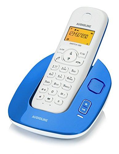 Audioline 904302 Switch 280 schnurloses DECT/GAP Telefon mit Anrufbeantworter