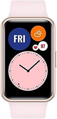 """HUAWEI Watch FIT - Smartwatch con Cuerpo de Metal, Pantalla AMOLED de 1,64"""", hasta 10 días de batería, 96 Modo"""