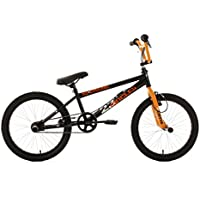 KS Cycling BMX Freestyle Circles - Bicileta BMX , para todas las medidas a partir de 135 cm, color naranja