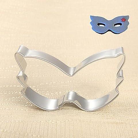 FPP mascherati stampi palla partito maschera forma formine per biscotti frutta tagliata in acciaio inox